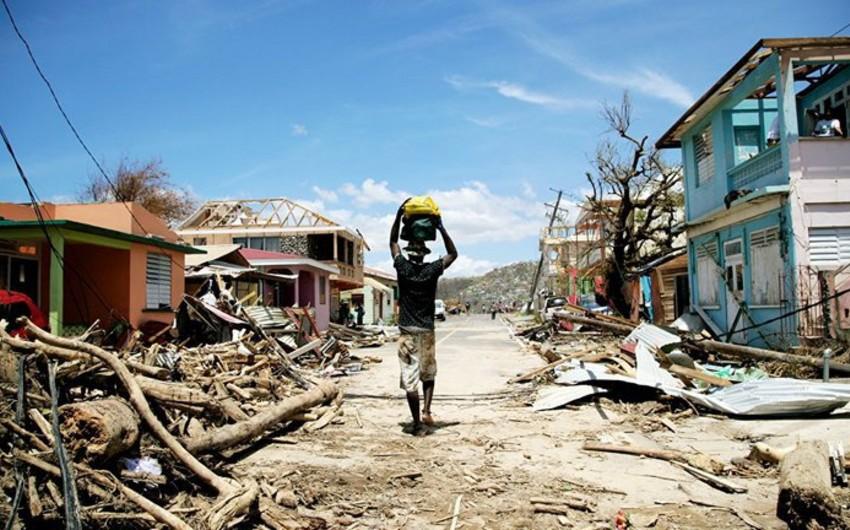 Puerto-Rikoda qasırğa qurbanlarının sayı 49 nəfər çatıb