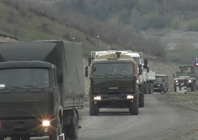 Rusiya sülhməramlıları Kəlbəcərə 80 ton yükün çatdırılmasını təmin edib
