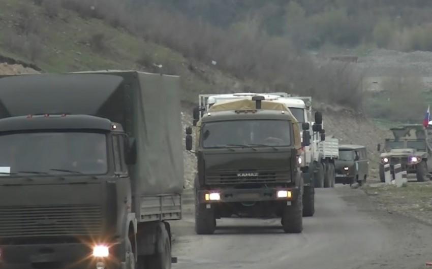 Российские миротворцы обеспечили доставку 80 тонн груза в Кельбаджар