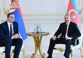 Serbian President makes call phone to Ilham Aliyev