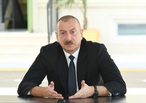 İlham Əliyev Aprel döyüşlərindən, Günnüt əməliyyatından danışdı