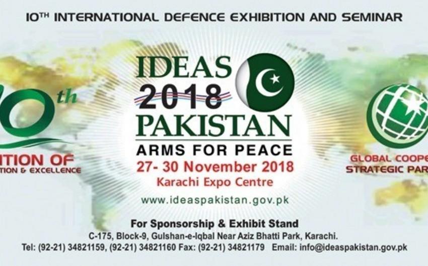 Azerbaijan to take part in Defense Industry Show in Pakistan