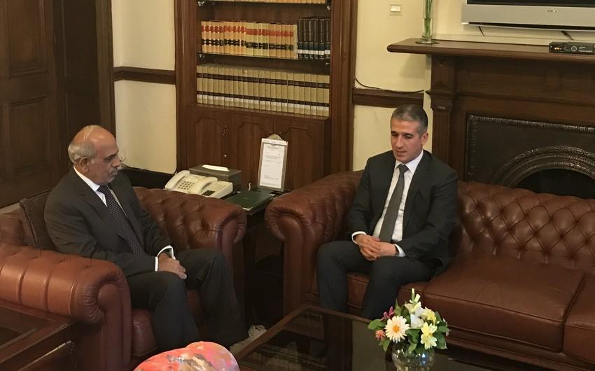 Azərbaycan səfiri Pakistanın Pəncab vilayətinin qubernatoru ilə görüşüb