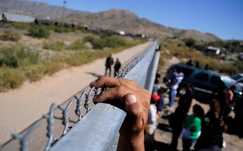 Meksikadan qanunsuz ABŞ-a keçən iki böyük miqrant qrupu saxlanılıb