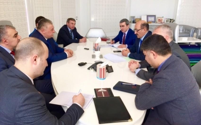 Azerbaijani Culture and Tourism Minister receives Sergei Takoev