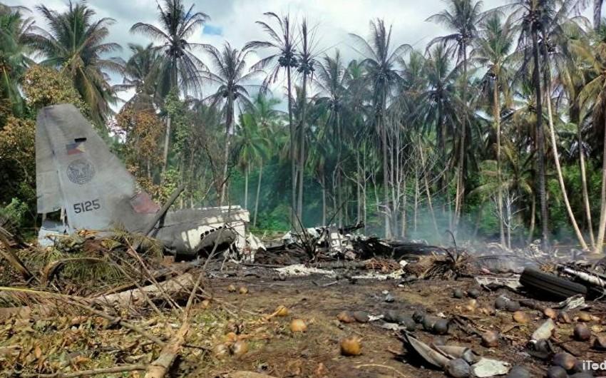 Увеличилось число погибших при крушении самолета ВВС Филиппин