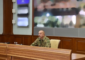 "Ilham Aliyev: ""We are on the threshold of a great return"""