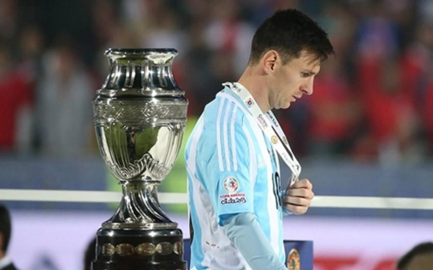 Messi Amerika Kubokunun ən yaxşı futbolçusu mükafatından imtina edib