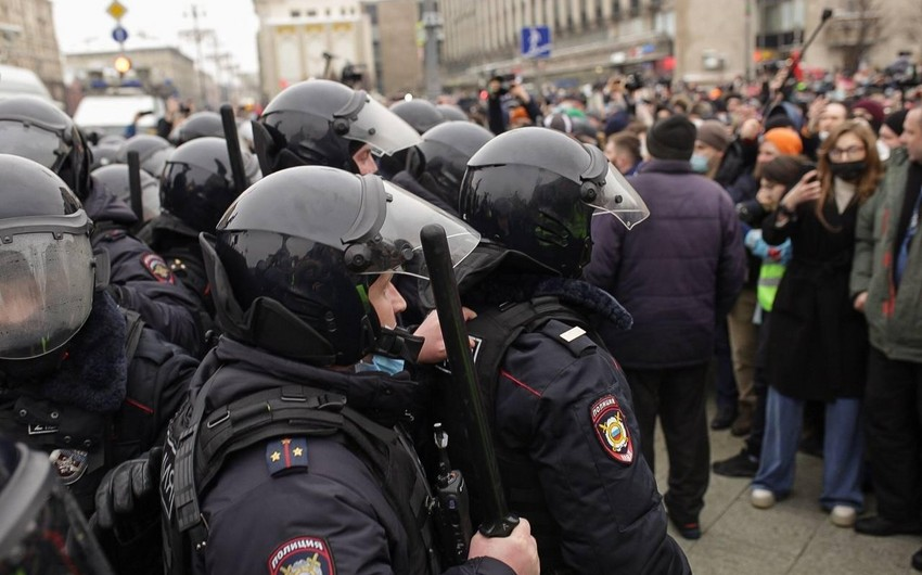 Putin Rusiyada keçirilən mitinqlərə münasibət bildirib