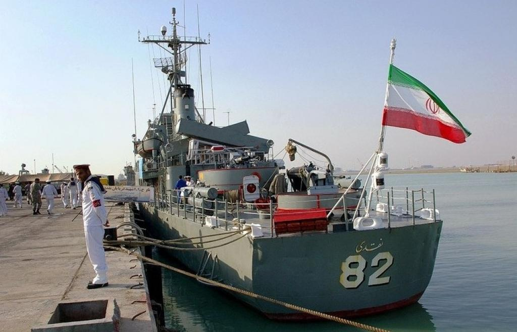 Iranian warships arrived in Baku