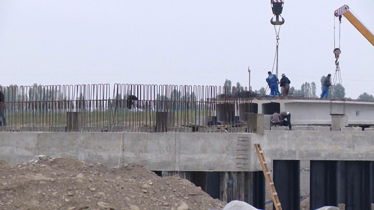 Состоялось открытие нового моста, возведенного над рекой Тертер