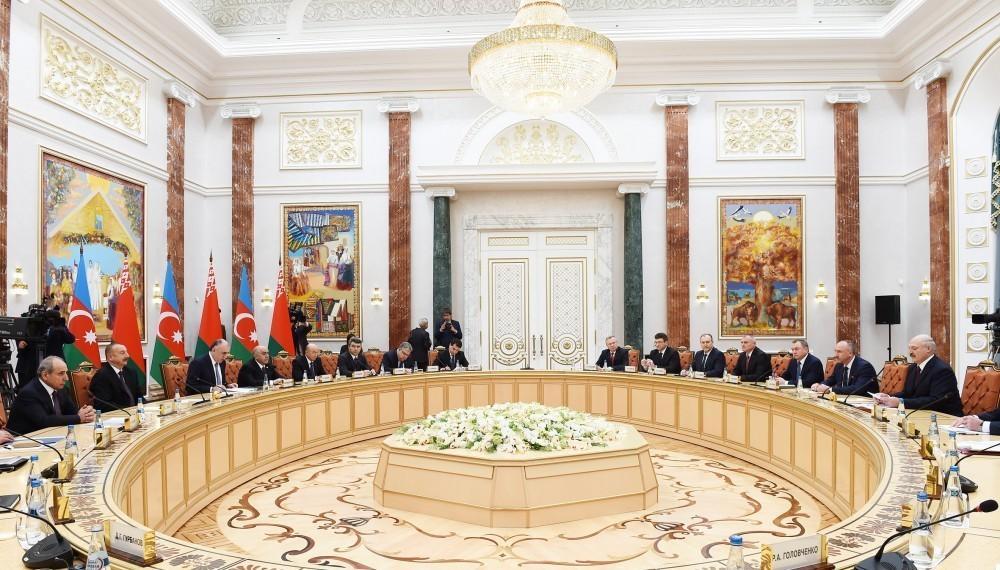 Prezident İlham Əliyev: Azərbaycan üçün Belarus mehriban dost və etibarlı tərəfdaşdır