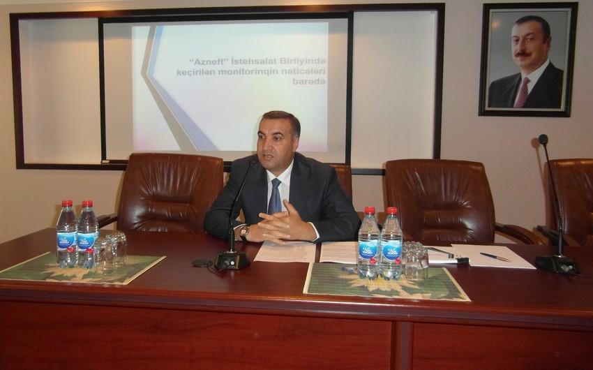 """В ПО """"Азнефть"""" прошло заседание по внедрению информационных технологий"""