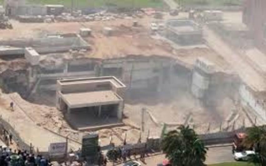 İsraildə tikilməkdə olan bina uçub, 30 nəfər itkin düşüb