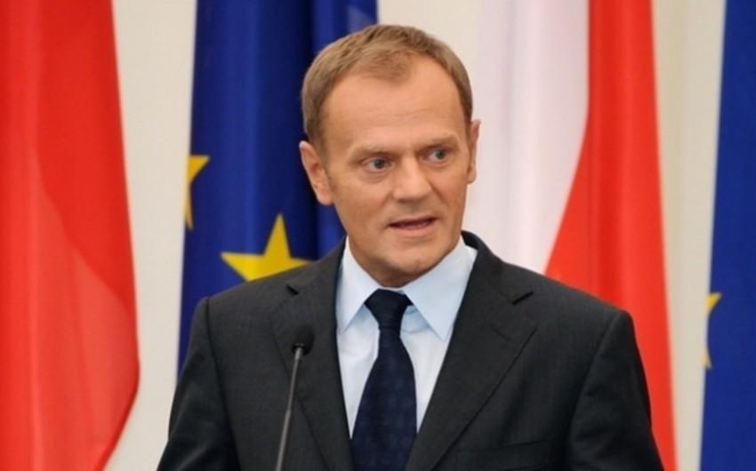 Polşanın sabiq baş naziri Donald Tusk Avropa Şurası sədri vəzifəsinin icrasına başlayır