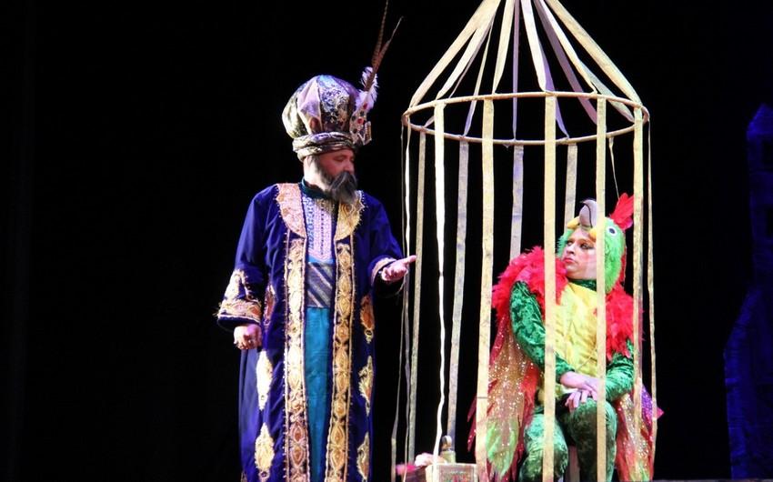 Mədət Quliyev Musiqili Teatrda olub