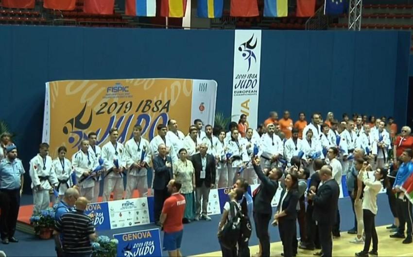 Azərbaycanın cüdo üzrə paralimpiya yığması Avropanın ən güclü komandası olub