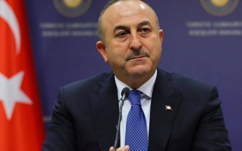 Türkiyə XİN başçısı: Dəməşqdəki rejimlə əlaqəmiz yoxdur