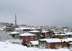 На Турцию обрушился сильный снегопад