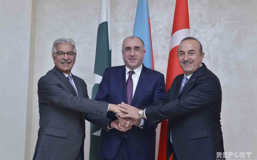 Turkish FM: Such trilateral meetings allow to discuss regional cooperation and ongoing developments