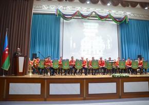 Azərbaycan Ali Hərbi Məktəbinin yaradılmasının 103-cü ildönümü qeyd olunub
