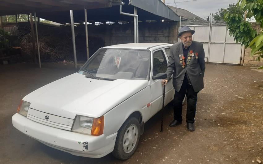 95-летний ветеран войны: С легкостью вожу автомобиль