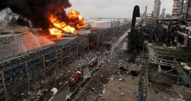 Over 2,800 houses damaged in China chemical plant explosion