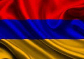 Ermənistan parlamentinin binası qarşısında etiraz aksiyası keçirilib