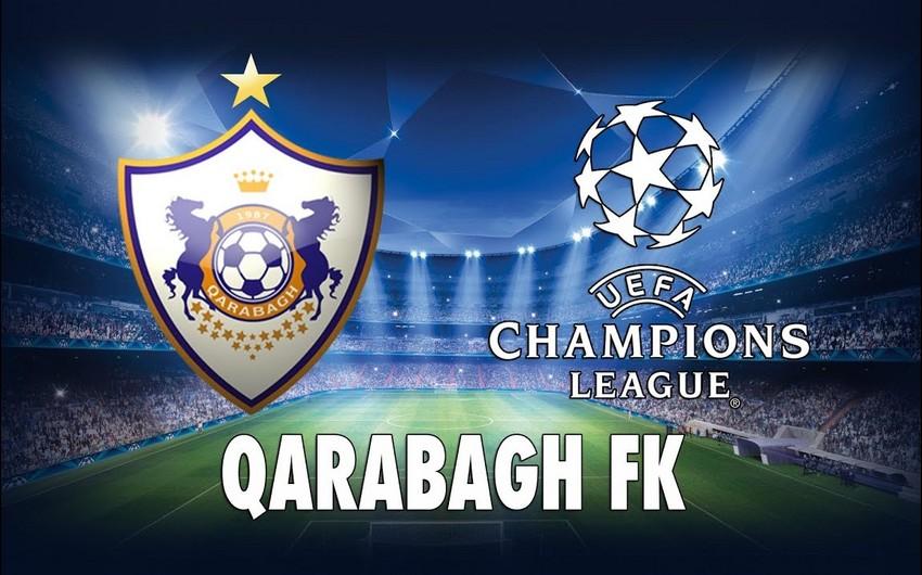 Qarabağ Çempionlar Liqasında mübarizəni dayandırdı