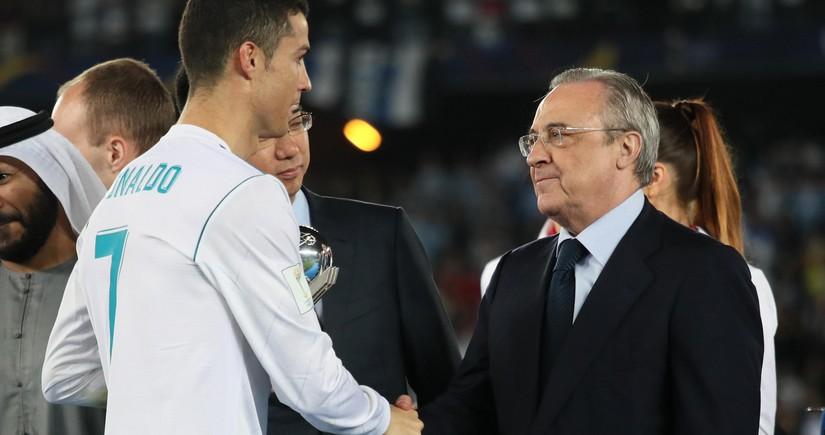 Kriştianu Ronaldu Real Madridin prezidenti ilə qapalı danışıq apardı
