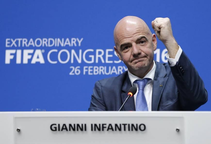 СМИ: Инфантино стал единственным кандидатом на пост главы ФИФА