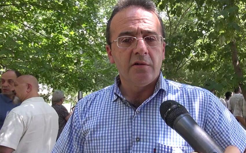 """Erməni hüquq müdafiəçisi: """"Yüksək vəzifəli məmurlar övladlarını hərbi xidmətdən yayındırır"""""""