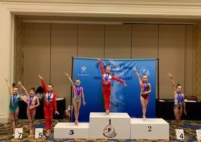 Azərbaycanlı gimnast ABŞ-da birinci oldu