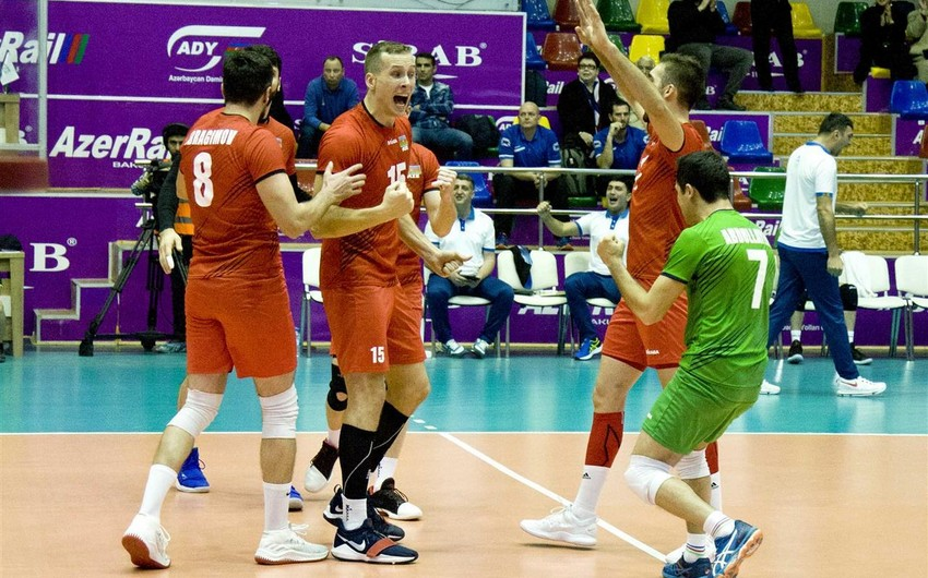 Azerbaijani male volleyballers to have their historic game today
