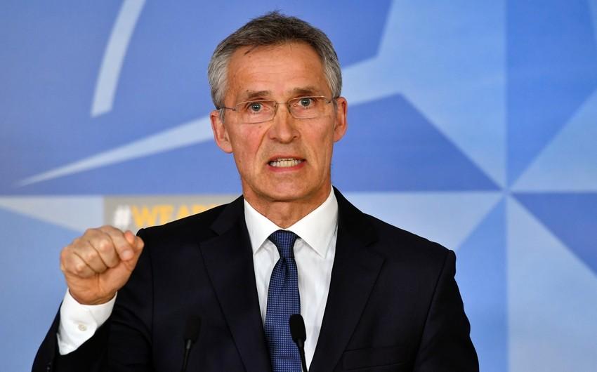NATO-nun Baş katibi Talibanın Əfqanıstana nəzarətinin səbəbini açıqlayıb