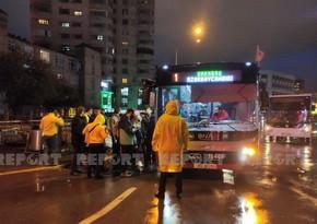 BNA sürücüləri yağışlı hava ilə əlaqədar diqqətli olmağa çağırıb