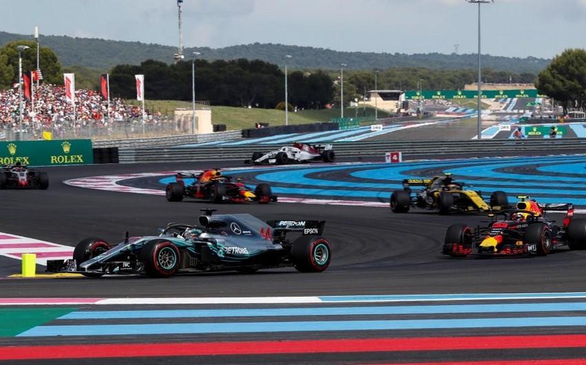 Formula 1 üzrə Fransa Qran-prisi başlayır