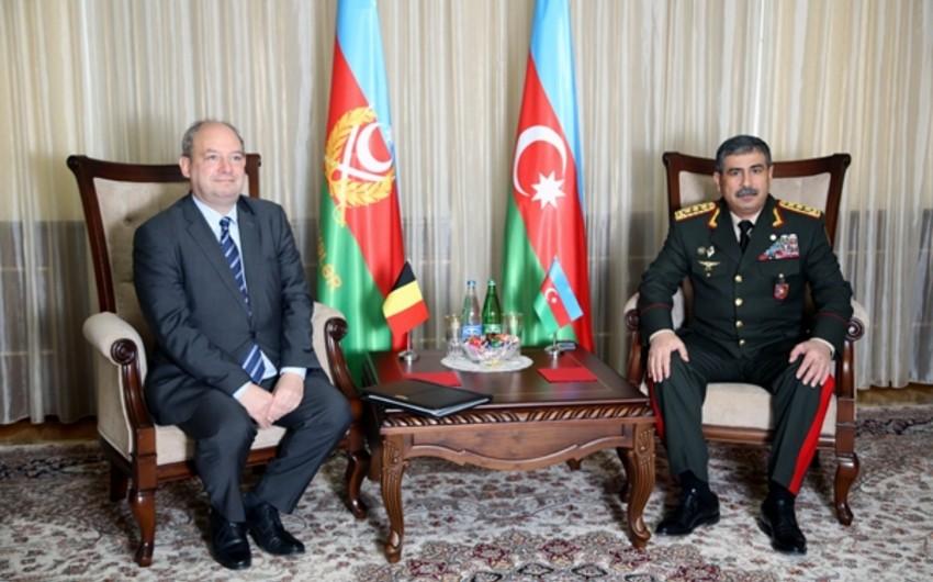 Закир Гасанов встретился с послом Бельгии в Азербайджане