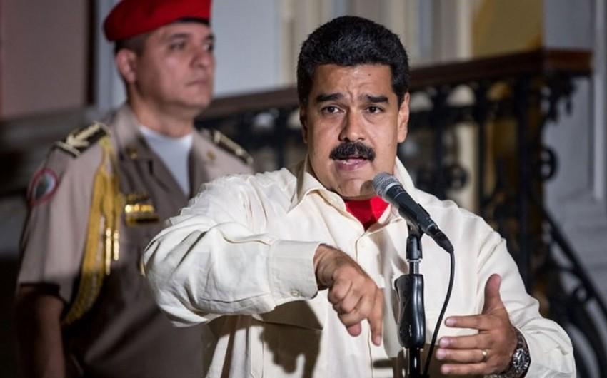 Nikolas Maduro Xuan Quaydonun narkokartellə əlaqəsindən danışıb