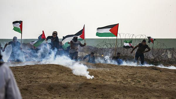 İsrail hərbçiləri ilə toqquşmalarda 1 fələstinli ölüb, 10 nəfər yaralanıb