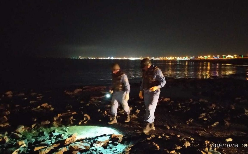 Sumqayıtda zenit top mərmisi aşkarlanıb - FOTO