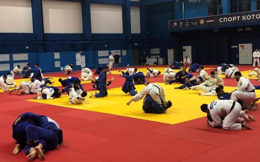 Cüdoçularımız olimpiadaya Kazanda hazırlaşır