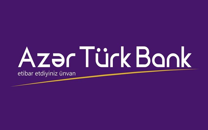 """""""Azər-Türk Bank""""da kart əməliyyatlarının dövriyyəsi artıb"""