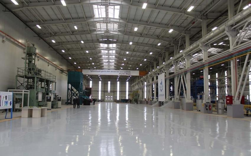 Предприятие по производству шприцев в Пираллахы заработает в III квартале этого года