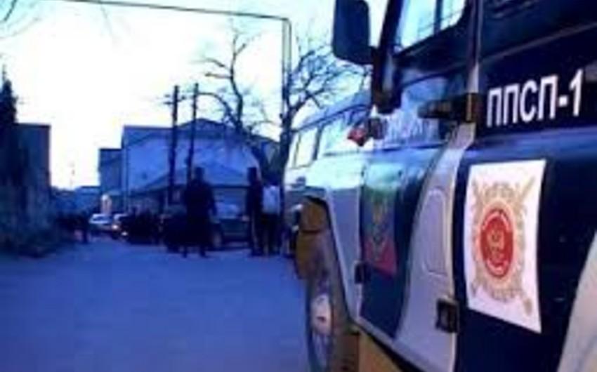 Dərbənddə açılan atəş nəticəsində iki polis yaralanıb