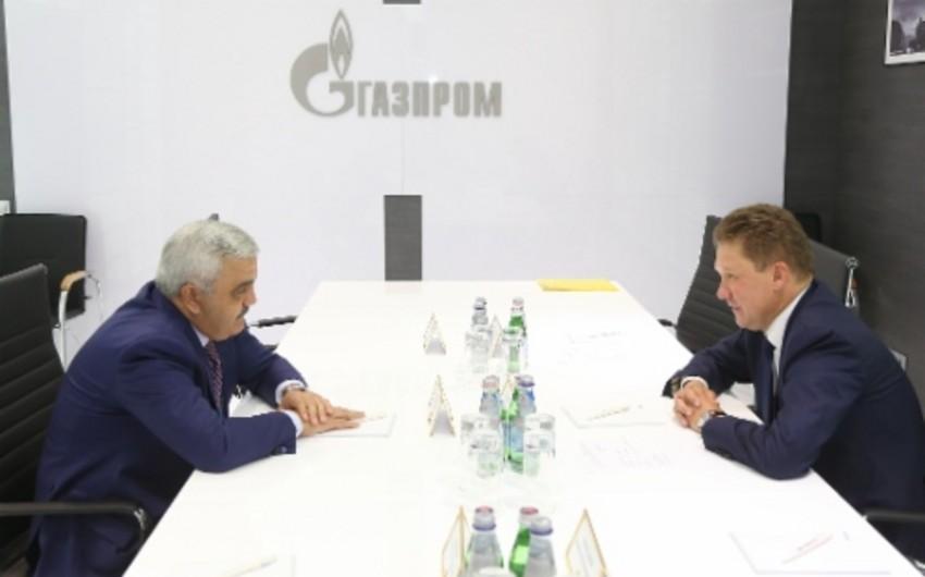 SOCAR və Qazprom gələcək əməkdaşlıq perspektivlərini müzakirə ediblər