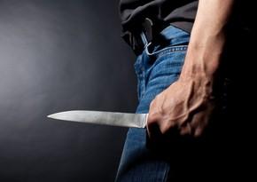 Bakı sakini avtomobilində bıçaqla hədələnib
