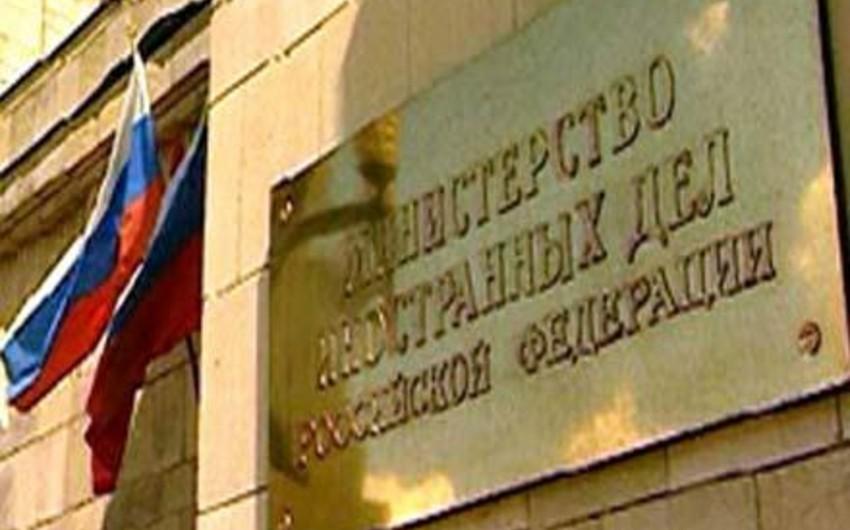 Rusiya XİN: Türkiyədə tutulanlar rusiyalı diplomatlarla təmasdan imtina ediblər