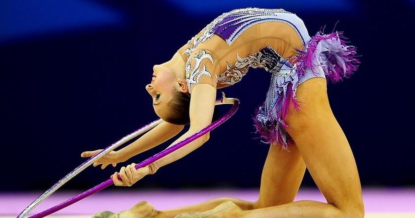 Азербайджанские гимнастки взяли две медали в Киеве