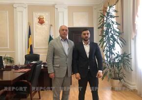 Украинский мэр: Готов поддержать активную азербайджанскую молодежь